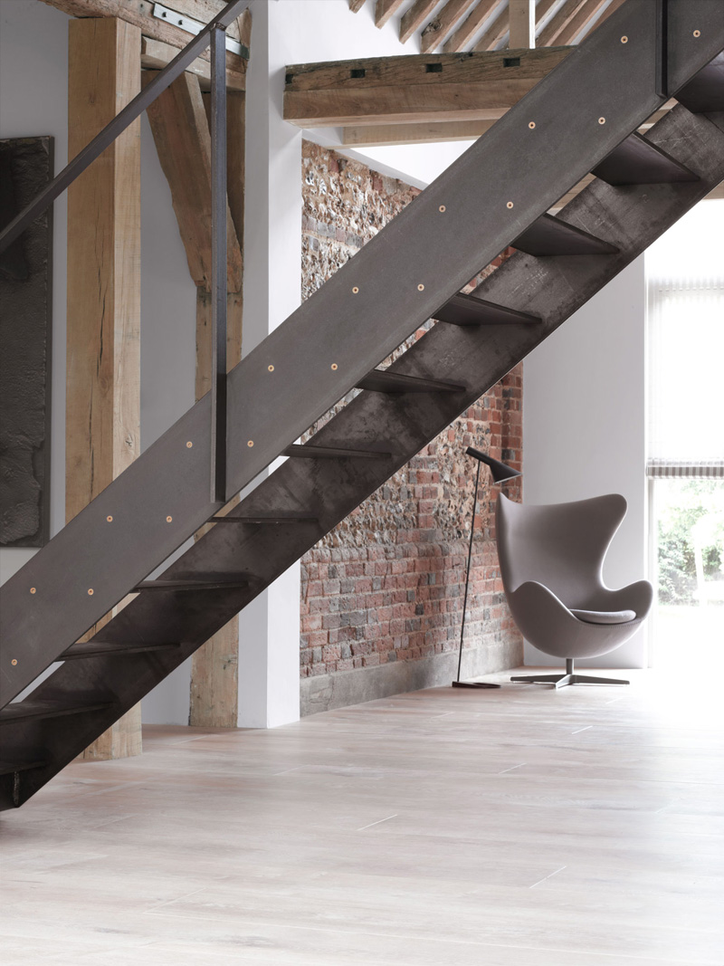 McLaren.Excell Included Moveable Stairs As Part Of A Renovation Project