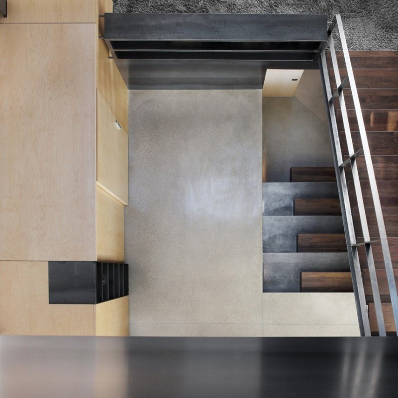 Design Detail: Steel & Walnut Stairs