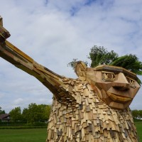 Troels The Troll By Thomas Dambo