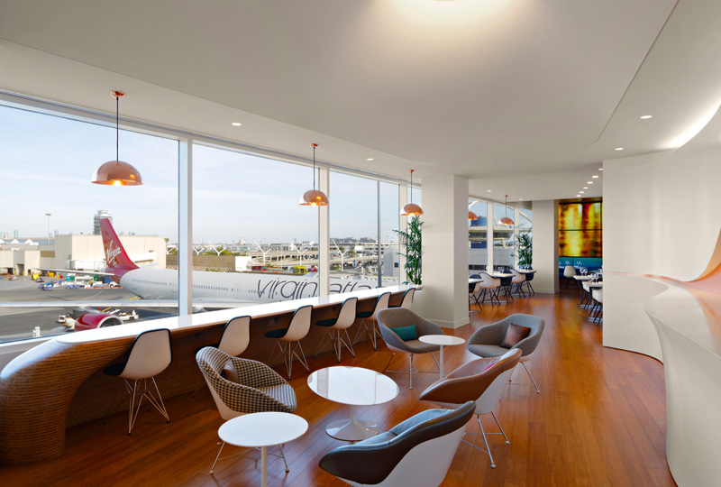 Los Angeles Virgin Atlantic Clubhouse By Slade Architecture & Virgin Atlantic Airways Design Team