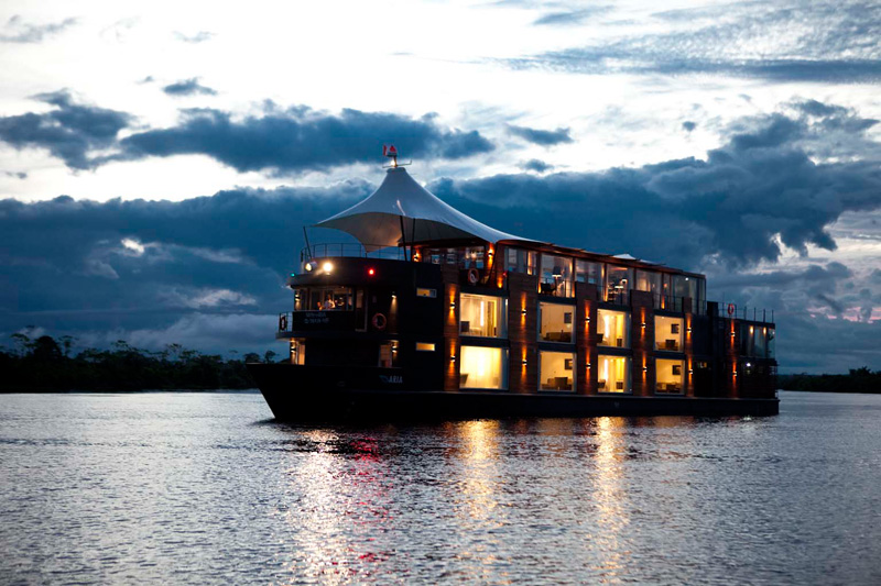 This Floating Hotel Is Styling Up The Amazon