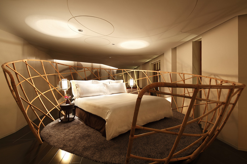 The Swatch Art Peace Hotel In Shanghai, China