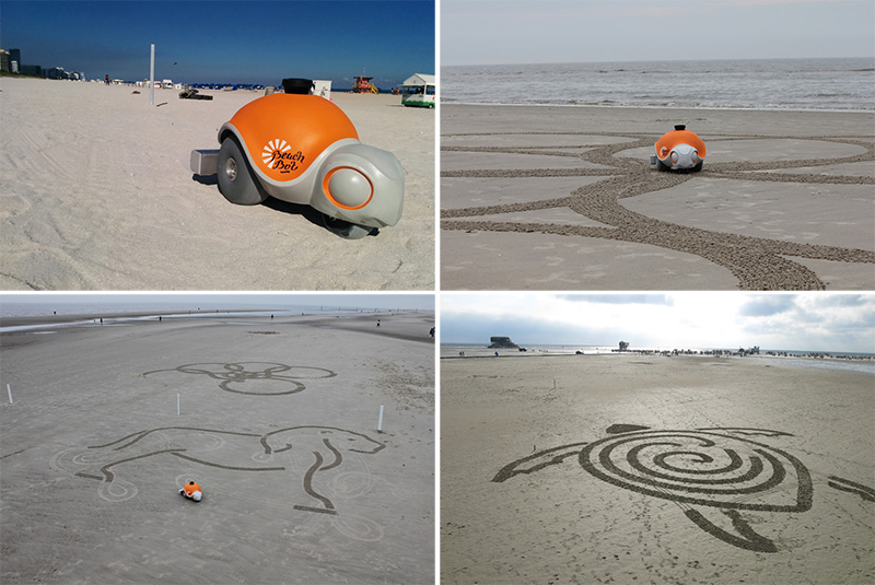Beachbot by Disney Research and students from ETH Zürich