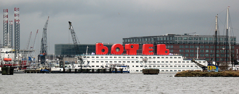 BOTEL Letters by MMX architecten