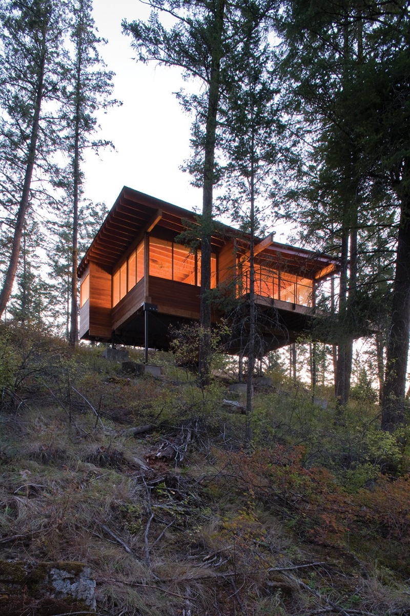 Cabin on Flathead Lake by Andersson Wise Architects