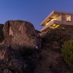 They wanted an escape from city life, so they built a house on a cliff overlooking the Pacific ocean
