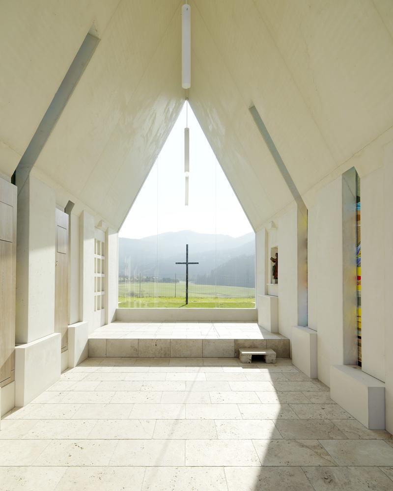 Maria Magdalena Chapel By Sacher.Lociciero.Architectes