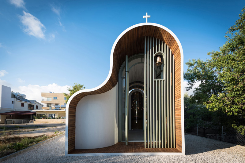 Michail Georgiou Designs A Small Chapel In Cyprus With A Welcoming Form