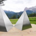 This Bench Design Was Inspired By The Mountains Around It