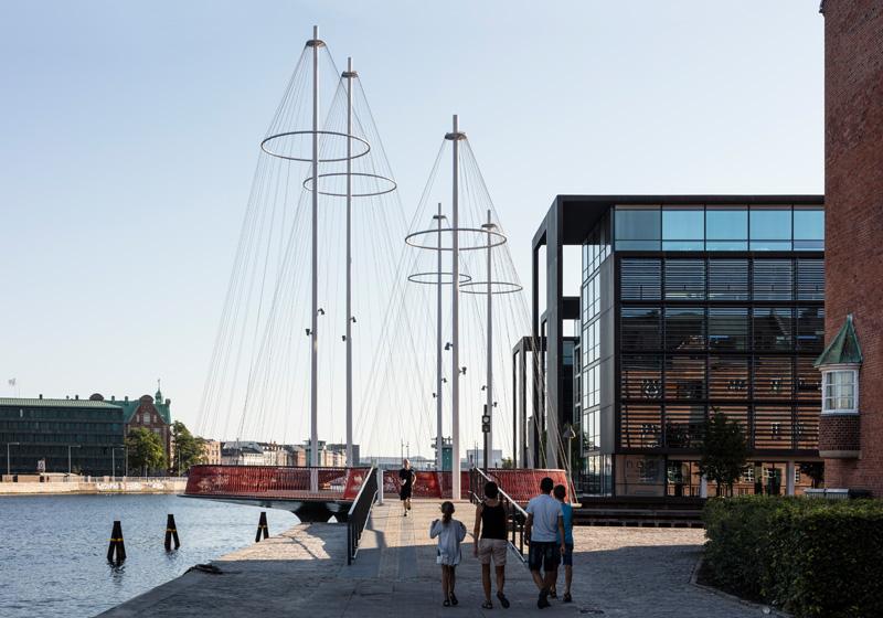 Cirkelbroen Bridge By Studio Olafur Eliasson