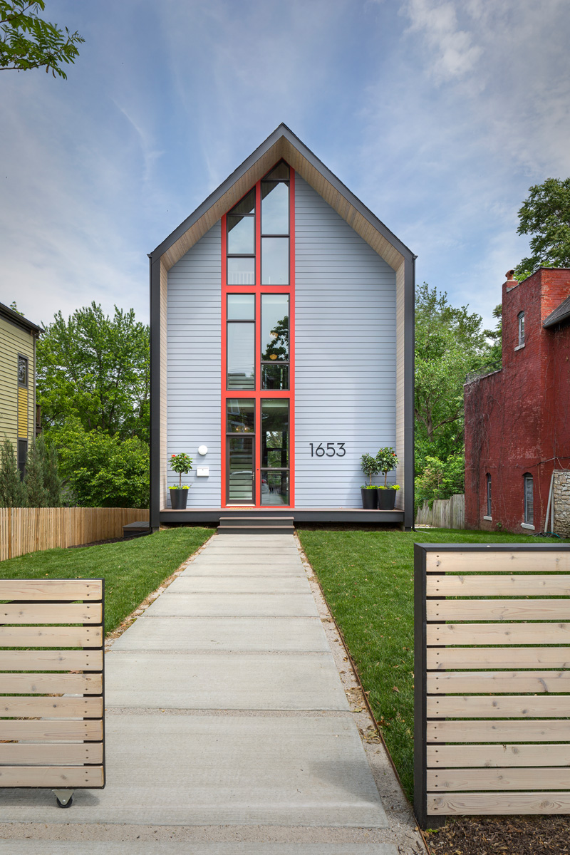 A simple modern home for a family in kansas city contemporist - Simple modern house ...