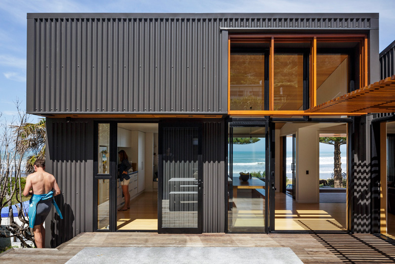 offSET Shed House By Irving Smith Architects
