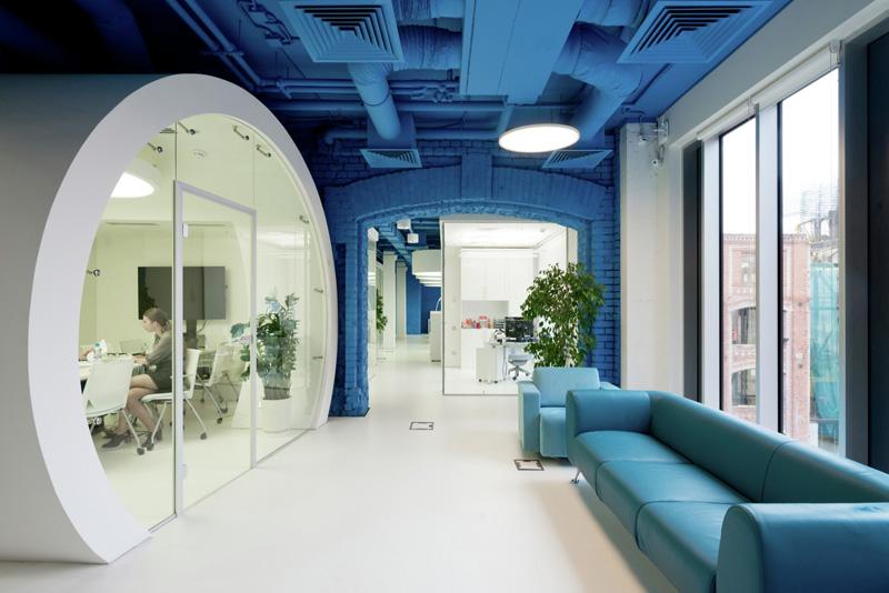 OPTIMEDIA Media Agency Office by Nefa Architects
