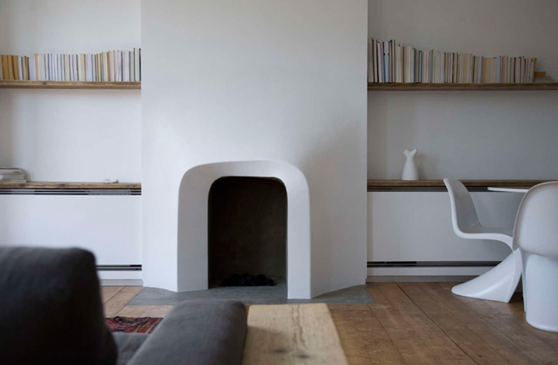 Custom Fireplace Surround By Scenario Architecture