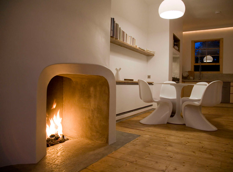 Custom Fireplace Surround By Scenario Architecture