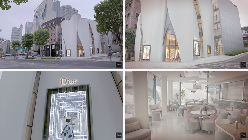 Dior Flagship Store in Seoul by Christian de Portzamparc