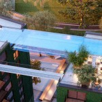 A Glass-Bottomed Swimming Pool Will Bridge Two Buildings In London
