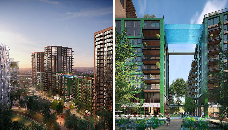 A Glass-Bottomed Swimming Pool Will Bridge Two Buildings In ...