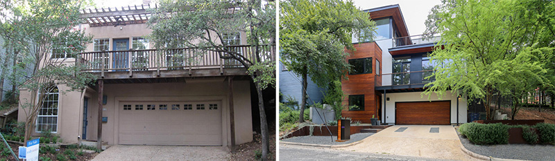 Before & After – The Transformation Of A 1980s Home In Austin, Texas
