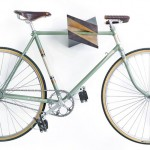 Reinis Salins Designs A Two-Tone Wood Bike Holder