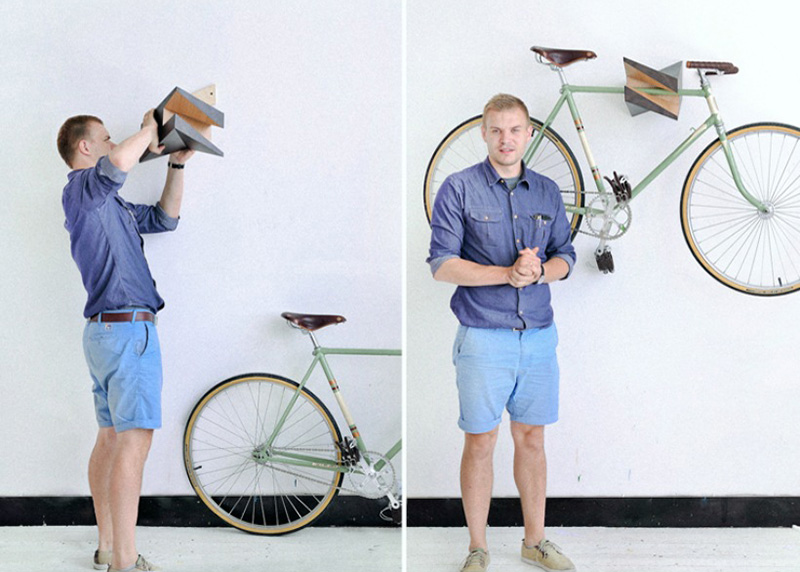 Iceberg Bike Hanger By Woodstick