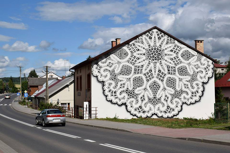 Lace Art By NeSpoon