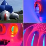 British Artist Alan Parkinson Has Created A Large Inflatable Maze In Geneva