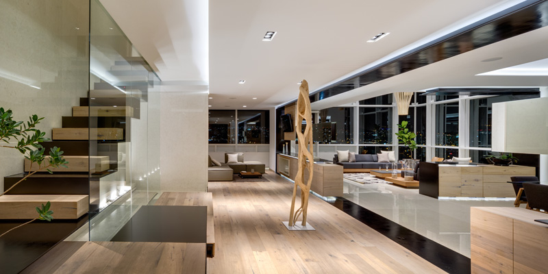 Archetonic Design The Interior Of An Apartment That