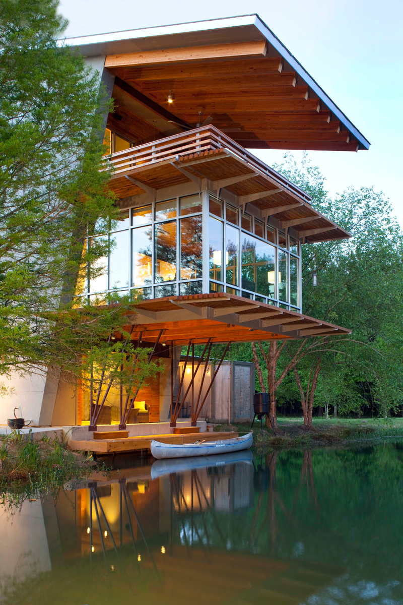 The Pond House At Ten Oaks Farm By Holly And Smith Architects