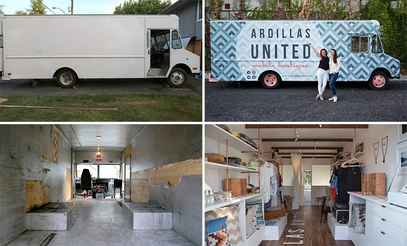 This Former Doritos Truck Has Been Transformed Into A Mobile Fashion Boutique