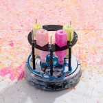 A Japanese Artist Has Turned A Roomba Into An Art Making Machine