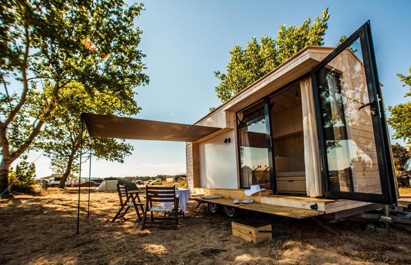 Tiny Vacation House On Wheels By Hristina Hristova