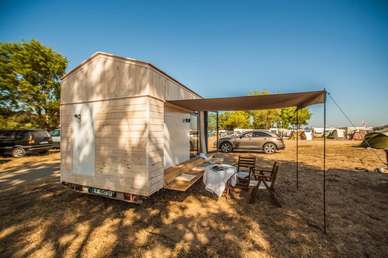 Tiny Vacation House On Wheels By Hristina Hristova