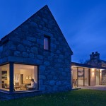 Derelict Stone Buildings Restored And Contemporized Into A Scottish Home