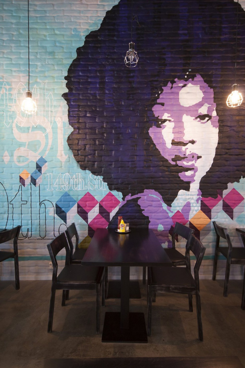 9 awesome wall murals that make a statement contemporist for Contemporary wall mural