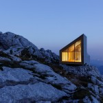 Mountain Hikers Get A New Alpine Shelter To Keep Warm In