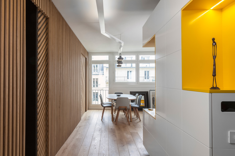 An Apartment In Paris For A Father And Son