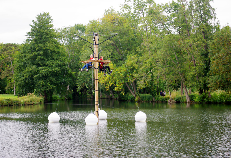 GABIE, an installation by Florent Albinet