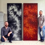 Artist Duo STALLMAN Create 'Canvas On Edge' Collection