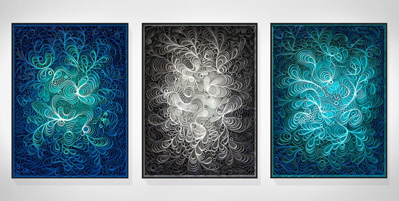 Artist Duo Stallman Create 'Canvas On Edge' Art Collection