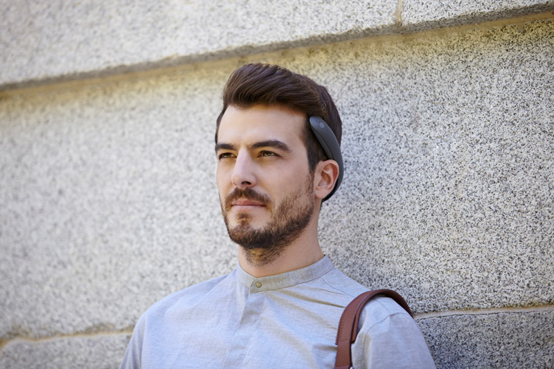 These Ear-Free Headphones Work Via Bone Conduction
