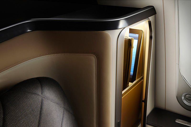 Take A Look At The First-Class Seats In British Airways' New Dreamliner