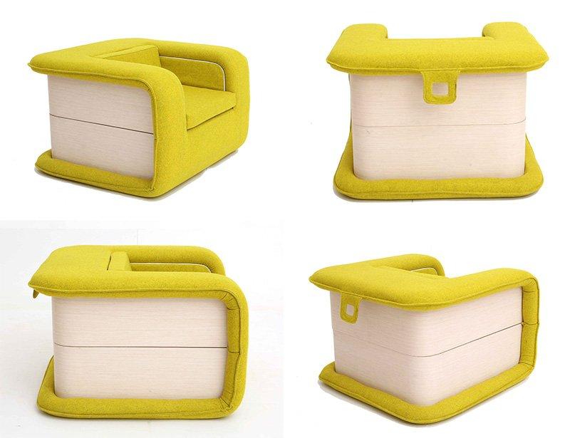 مبلمان تخت خواب شو، خلاقیت در طراحی