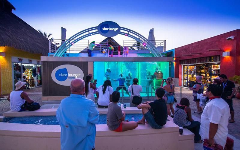 Clear Lounge Underwater Oxygen Bar