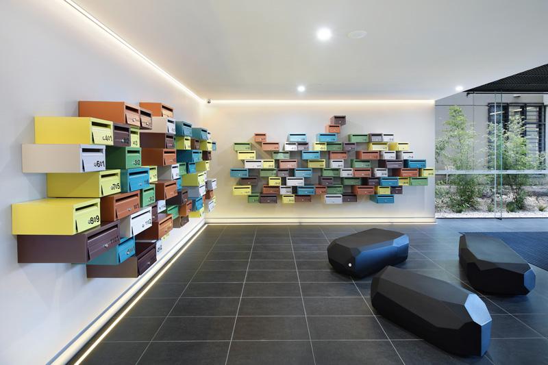طراحی نمای مدرن،نمای ساختمان مسکونی