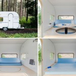 This Camper Does Triple Duty As An Office, Lounge, And Bedroom