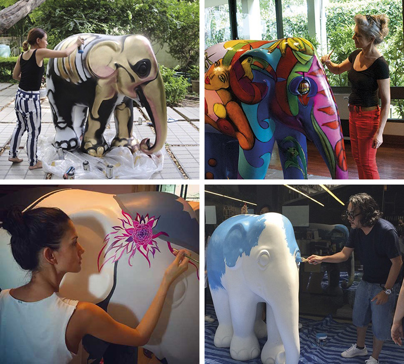 A Herd Of Decorated Elephants Will Take Over Bangkok In December