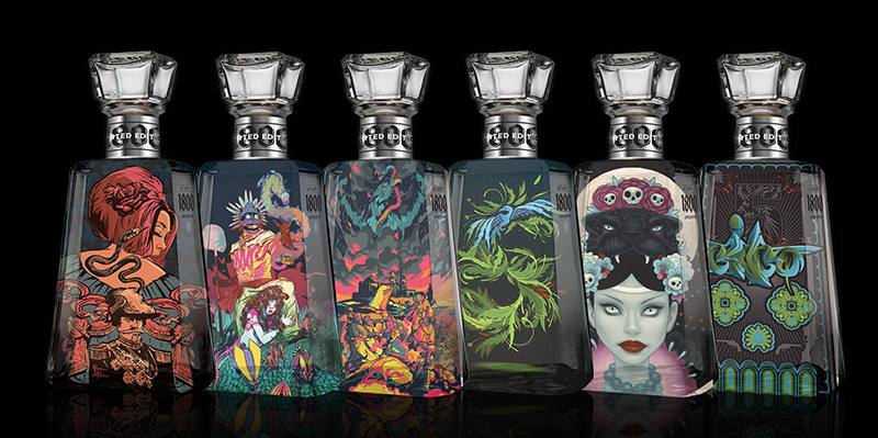 1800® Tequila Releases Limited Edition Artist Series