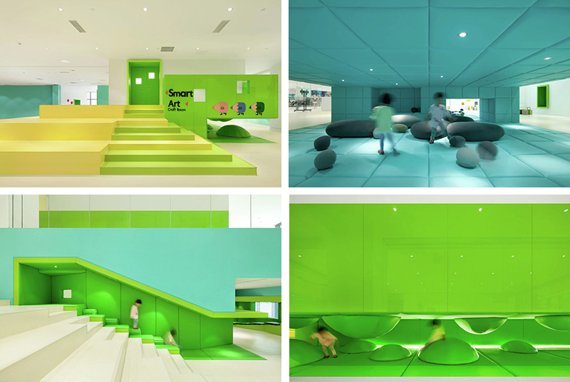 This New Children's Play Space Is Filled With Fun Colorful ...