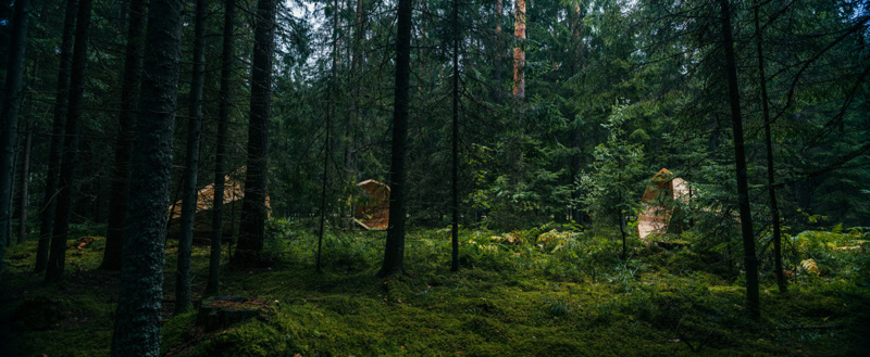 Gigantic Megaphones Have Been Installed In A Forest In Estonia